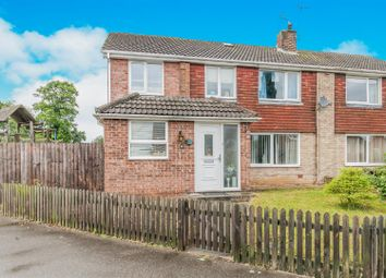 Thumbnail 4 bed semi-detached house for sale in Hilton Way, Sible Hedingham, Halstead