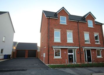 Thumbnail 4 bedroom semi-detached house to rent in Lakeside Boulevard, Cannock