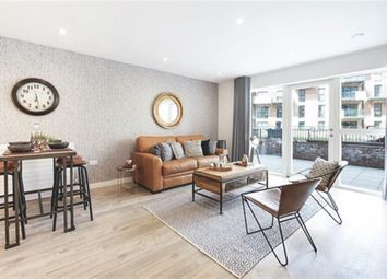 Thumbnail 2 bed flat for sale in Purbeck Gardens, London