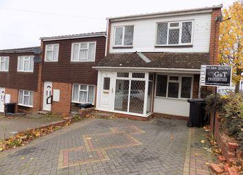Thumbnail 3 bed terraced house to rent in Love Lane, Lye, Stourbridge