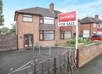 Thumbnail 3 bed semi-detached house for sale in Beverley Crescent, Lanesfield, Wolverhampton