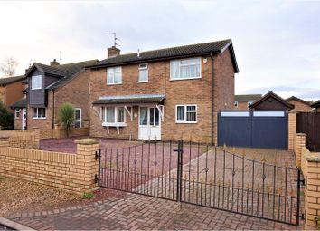 Thumbnail 3 bed detached house for sale in Fenside Drive, Peterborough