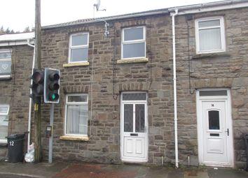 Thumbnail 3 bed terraced house for sale in Cardiff Road, Merthyr Vale, Merthyr Tydfil