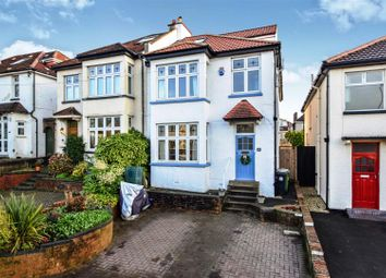 Thumbnail 4 bed semi-detached house for sale in Kellaway Avenue, Bristol
