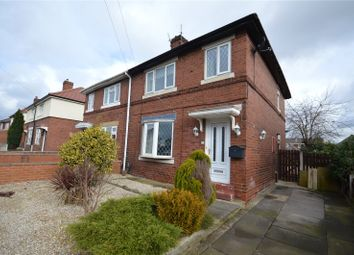 Thumbnail 3 bed semi-detached house for sale in Coronation Street, Wrenthorpe, Wakefield, West Yorkshire