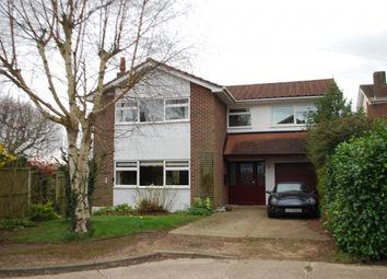 Thumbnail 4 bed detached house for sale in Highfield Close, Chelmsford, Essex