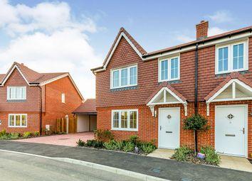 Thumbnail 3 bed semi-detached house for sale in Long Strakes, Staplehurst, Tonbridge, Kent