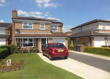 Thumbnail 4 bed detached house for sale in Cygnet Close, Sleaford