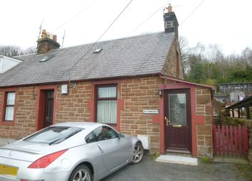 Thumbnail 2 bed semi-detached house for sale in Bankfoot Cottages, Quarry Road, Locharbriggs, Dumfries