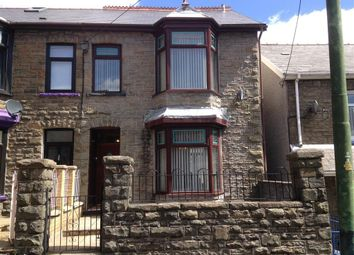 Thumbnail 4 bed semi-detached house to rent in Byron Street, Cwmaman, Aberdare