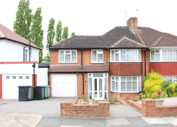 Thumbnail 4 bed semi-detached house for sale in Charlton Road, Wembley