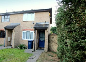 Thumbnail 2 bed end terrace house for sale in Compton Close, Eynesbury, St. Neots