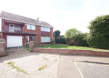 Thumbnail 4 bed detached house for sale in St. Leonards Close, Wymondham