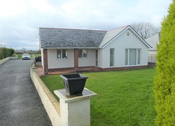 Thumbnail 3 bed detached bungalow for sale in Maenygroes, New Quay