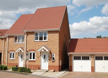 Thumbnail 2 bed semi-detached house to rent in Remus Court, North Hykeham, Lincoln