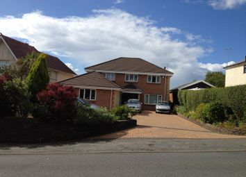Thumbnail 6 bed detached house for sale in Gower Road, Swansea