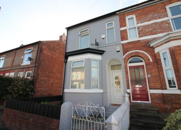 Thumbnail 3 bed end terrace house for sale in Grosvenor Road, Urmston, Manchester