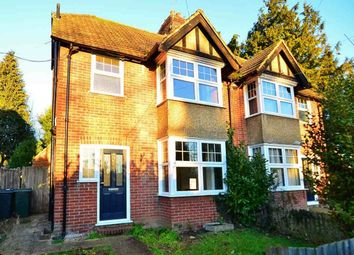 Thumbnail 3 bed semi-detached house to rent in Lower Queens Road, Ashford