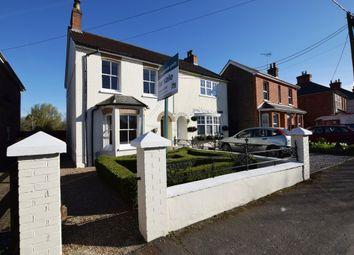 Thumbnail 3 bed semi-detached house for sale in Glencoe Villas, Ash Green Road, Ash Green, Surrey
