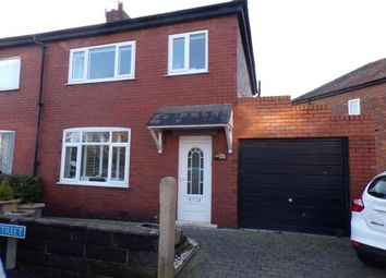 Thumbnail 3 bed semi-detached house for sale in Woodville Street, Farington, Leyland, Lancashire