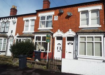 Thumbnail 3 bed terraced house for sale in Ashbourne Road, Birmingham, West Midlands