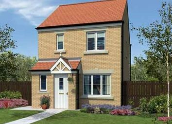 "Thumbnail 3 bed terraced house for sale in ""The Hanbury"" at Rothbury Drive, Ashington"