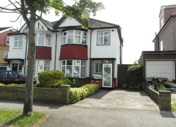 Thumbnail 3 bed semi-detached house to rent in Cambridge Road, North Harrow, Harrow