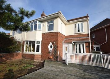 Thumbnail 4 bed semi-detached house for sale in Warwick Road, South Shields