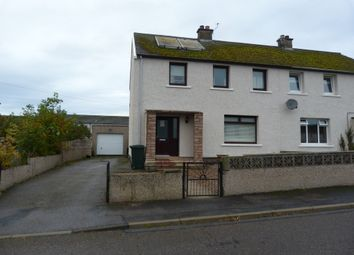 Thumbnail 3 bedroom flat to rent in Sunbank Place, Lossiemouth