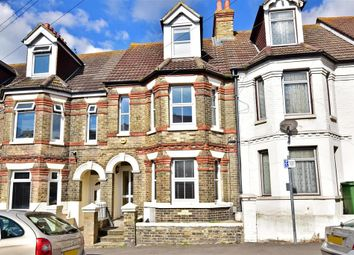 Thumbnail 4 bedroom terraced house for sale in Linden Crescent, Folkestone, Kent