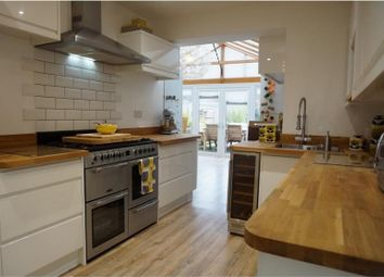 Thumbnail 3 bed terraced house for sale in Highfield Road, Woodford Green, Essex.