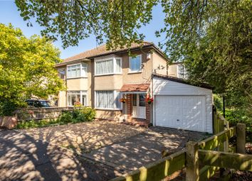 Thumbnail 4 bed semi-detached house for sale in Eastleigh Close, Staple Hill, Bristol