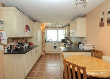 Thumbnail 3 bedroom end terrace house for sale in Byron Avenue, Borehamwood, Hertfordshire