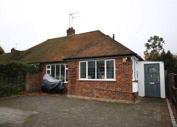 Thumbnail 3 bed semi-detached bungalow for sale in Byfleet, West Byfleet, Surrey