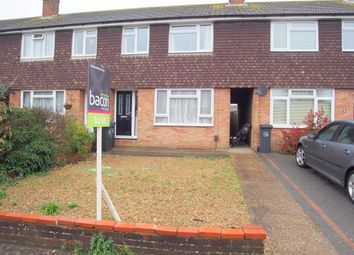 Thumbnail 3 bedroom terraced house to rent in Hamilton Close, Broadwater, Worthing