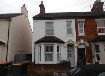Thumbnail 4 bed semi-detached house to rent in Dudley Street, Bedford