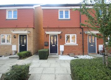 Thumbnail 2 bed end terrace house for sale in Eustace Crescent, Medway Gate, Strood, Kent