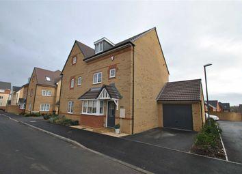 Thumbnail 4 bed semi-detached house for sale in Linnet Way, Keynsham, Bristol