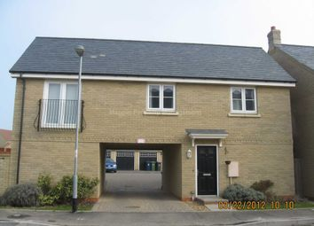 Thumbnail 2 bed flat to rent in Lannesbury Crescent, St. Neots