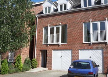Thumbnail 3 bed town house to rent in The Erins, Norwich