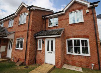 Thumbnail 3 bed end terrace house for sale in Woodbank Close, Bilsthorpe, Newark, Nottinghamshire