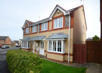 Thumbnail 3 bed semi-detached house for sale in Tunbridge Way, Emersons Green, Bristol
