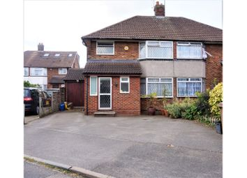 Thumbnail 4 bedroom semi-detached house for sale in Fallowfield, Luton