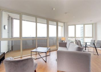 Thumbnail 2 bed flat to rent in Discovery Tower, London