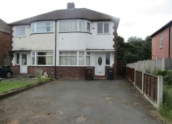 Thumbnail 3 bed semi-detached house to rent in Jillcot Road, Solihull, West Midlands