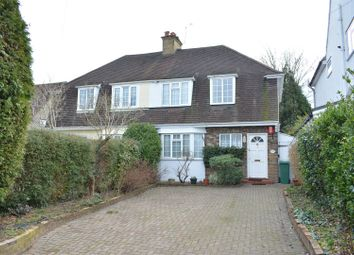 Thumbnail 3 bed semi-detached house for sale in Ruden Way, Ewell, Epsom