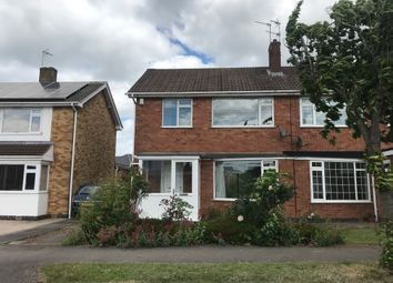 Thumbnail 3 bed semi-detached house to rent in Clovelly Road, Glenfield