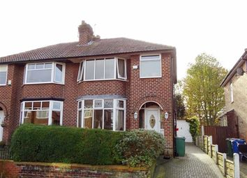 Thumbnail 3 bedroom semi-detached house for sale in Heaton Street, Prestwich, Prestwich Manchester
