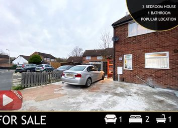Thumbnail 2 bed semi-detached house for sale in Barnsdale Road, Leicester