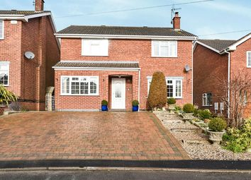 Thumbnail 4 bed detached house for sale in Dovedale Close, Marehay, Ripley